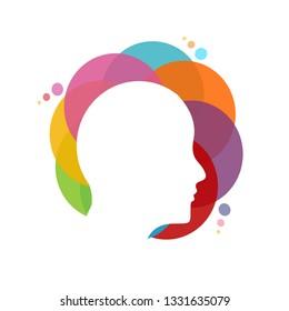 human head logo icon