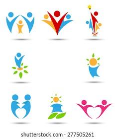 Human icons