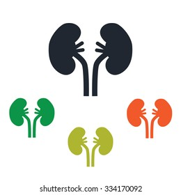 Human kidneys icon