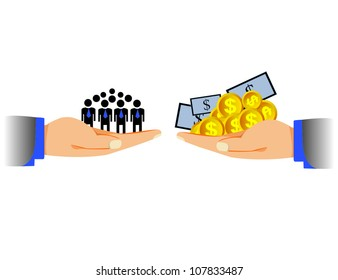human and money, Allocation of Resources