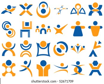 Human Related Vector Designs