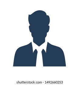 Human Resource and Businessman Icon Concept