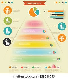 Human resource,Elements of Infographics,Retro style,vector - Shutterstock ID 159339755