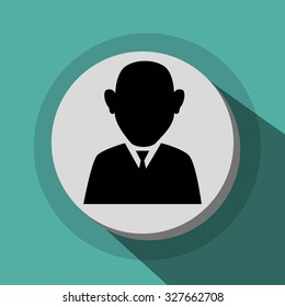Human resources and business icons, vector illustration graphic