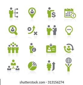 Human Resources Icons // Natura Series