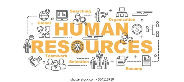 Human Resource Icons Images Stock Photos  Vectors  Shutterstock