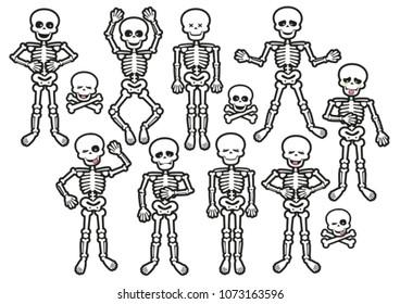 Human Skeleton Poses