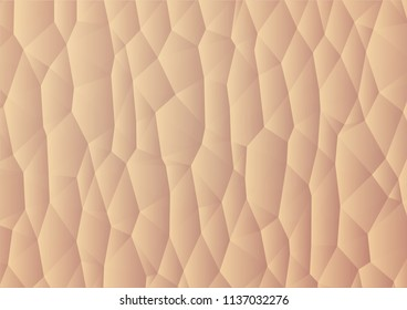 human skin polygonal illustration