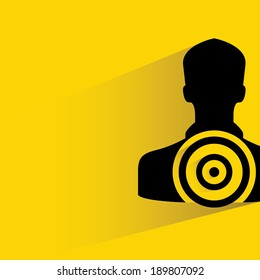 human target, marketing strategy concept