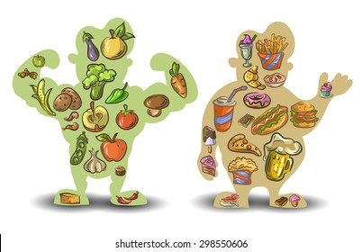 Carbohydrate Protein And Fat Images Stock Photos