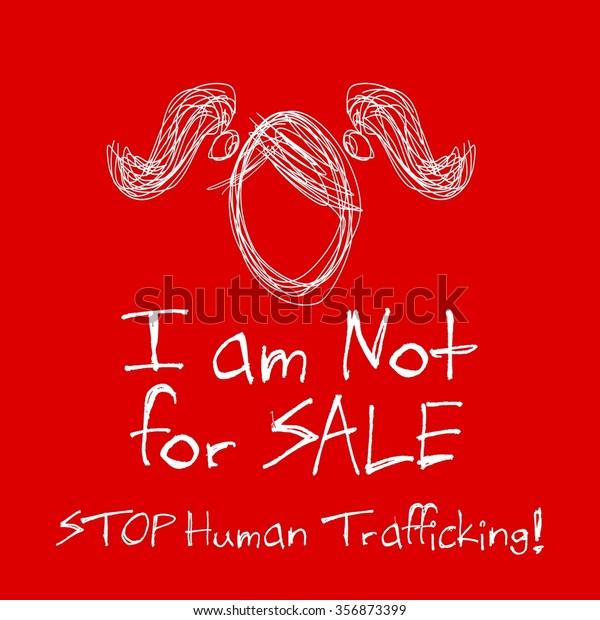 Human Trafficking Awareness Day Vector Design Stock Vector Royalty Free 356873399