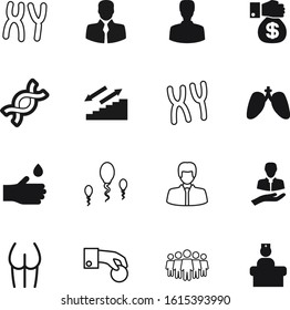 human vector icon set such as: lungs, insemination, fertilization, science, woman, lung, technology, drop, charity, environment, outline, eco, part, give, customer, step, buttocks, reproduction, logo