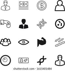 human vector icon set such as: step, save, boy, checkmark, anti, body, choice, egg, computer, pound, light, power, bacteria, view, female, eye, art, store, cell, bacterial, teamwork, holding