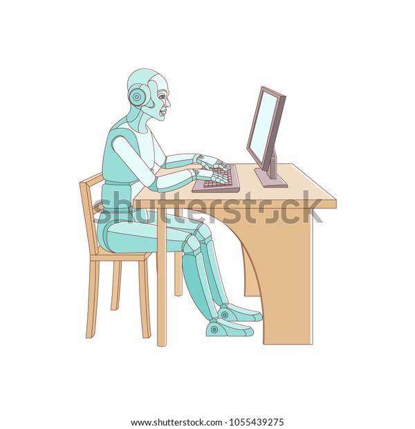 humanoid-robot-cyborg-sits-workplace-600