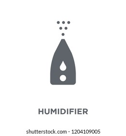 humidifier icon. humidifier design concept from Electronic devices collection. Simple element vector illustration on white background.