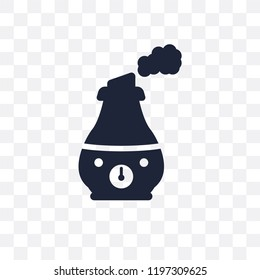 humidifier transparent icon. humidifier symbol design from Electronic devices collection.