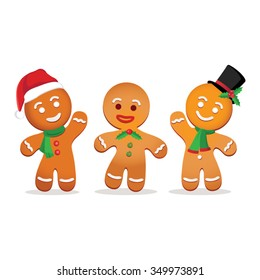 Humorous gingerbread man