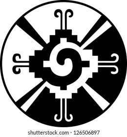Hunab Ku -Heart of the Galaxy - Mayan symbol for God