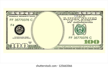 One Hundred Dollar Bill Images Stock Photos Vectors Shutterstock
