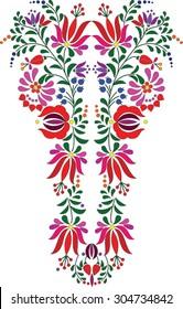 Hungarian folk art motif