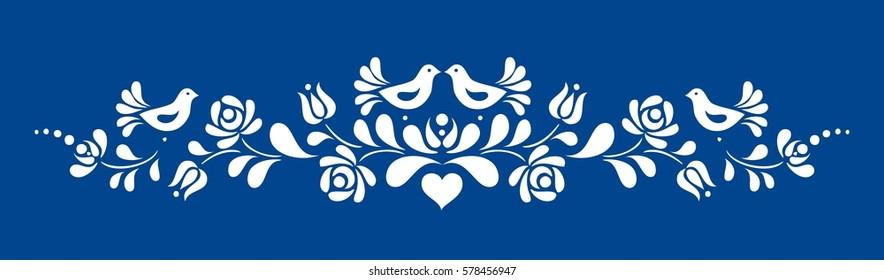 Hungarian folk motif