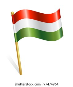 Hungary Country flag