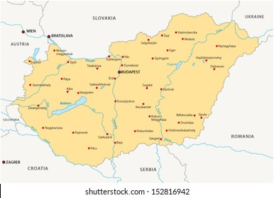 Map Of Germany And Hungary.Map Hungary Austria Images Stock Photos Vectors Shutterstock