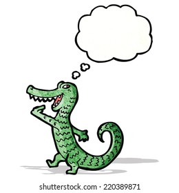 hungry alligator cartoon