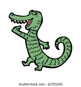 hungry crocodile cartoon