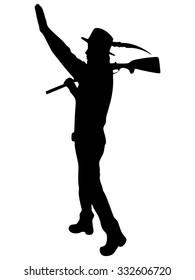 Hunting, Hunter, Rifle