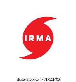 Hurricane Irma vector