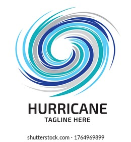 Hurricanecircle logo, perfect for Cleaning Service and Electric business logo, also courier service