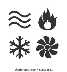 Air Conditioning Symbol Stock Vectors, Images & Vector Art ...