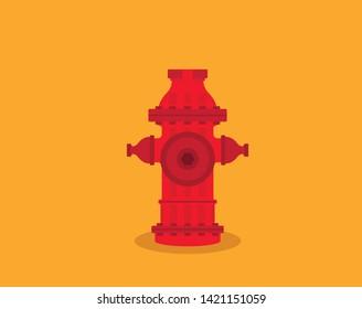 Hydrant vector icon, illustration logo