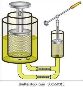 hydraulic pump images stock photos vectors shutterstock