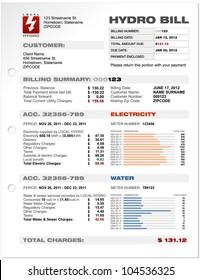 Vorlage Vektor-Vorlage für Wasserkraftwerke