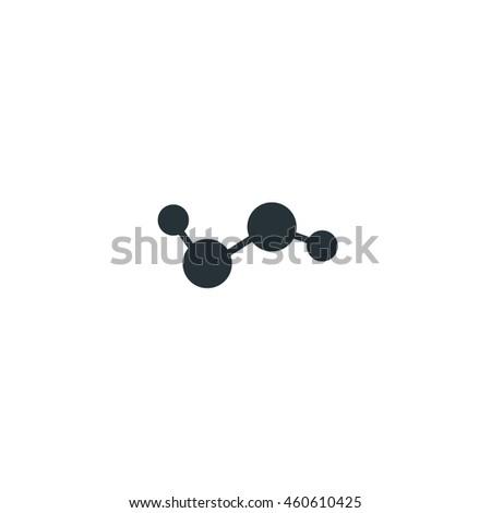 Hydrogen Molecule Icon Hydrogen H 2 O 2 Hydrogen Stock Vector