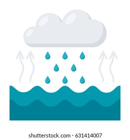 Water cycle diagram images stock photos vectors shutterstock hydrology concept with water cycle diagram vector illustration in flat style ccuart Gallery