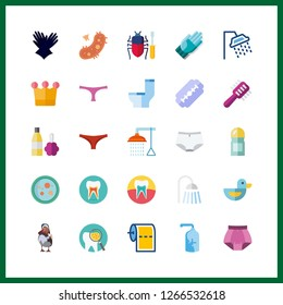 hygiene icon. crown and toilet paper vector icons in hygiene set. Use this illustration for hygiene works.