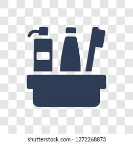 hygiene kit icon. Trendy hygiene kit logo concept on transparent background from Hygiene collection
