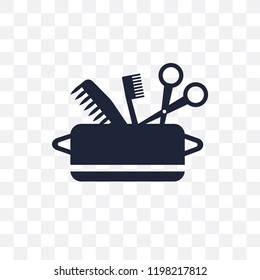 hygiene kit transparent icon. hygiene kit symbol design from Hygiene collection. Simple element vector illustration on transparent background.