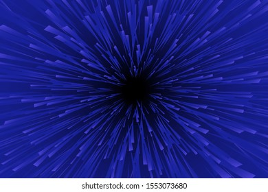hyper speed. vector design. abstract modern background. warp drive. futuristic space tunnel for travel at the speed of light. time travelerspace concept. dynamic stars blur