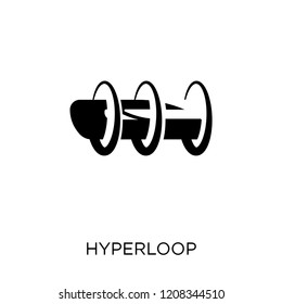 Hyperloop icon. Hyperloop symbol design from Future technology collection.