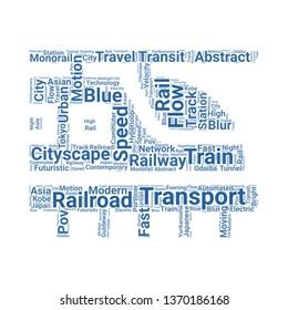 hyperloop word cloud. tag cloud about hyperloop