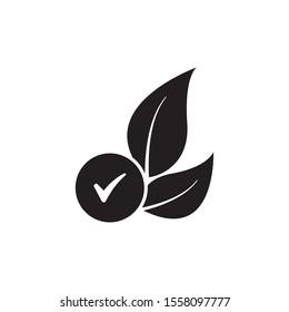 Hypoallergenic tested icon design. vector illustration
