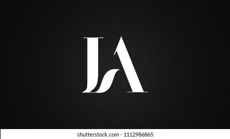 IA Letter Logo Design Template Vector