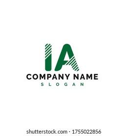 IA Letter Logo Design. IA letter logo Vector Illustration - Vector