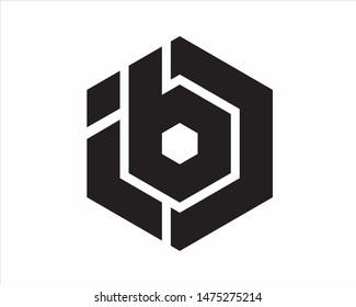 ib or ibc symbol creative strong and clean can be used for company or personal logo.