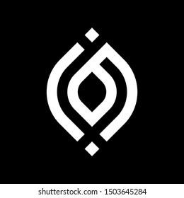iB jB Logo Monogram Icon Vector Template