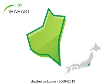 Ibaraki Japan Map.Ibaraki Japan Stock Vectors Images Vector Art Shutterstock